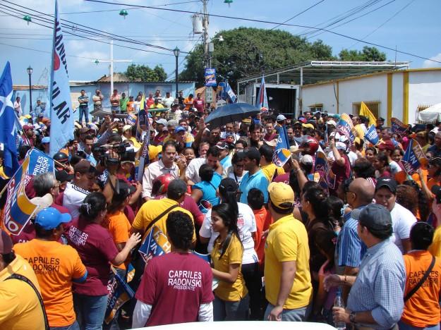 En Maracaibo se unieron al autobús del Progreso